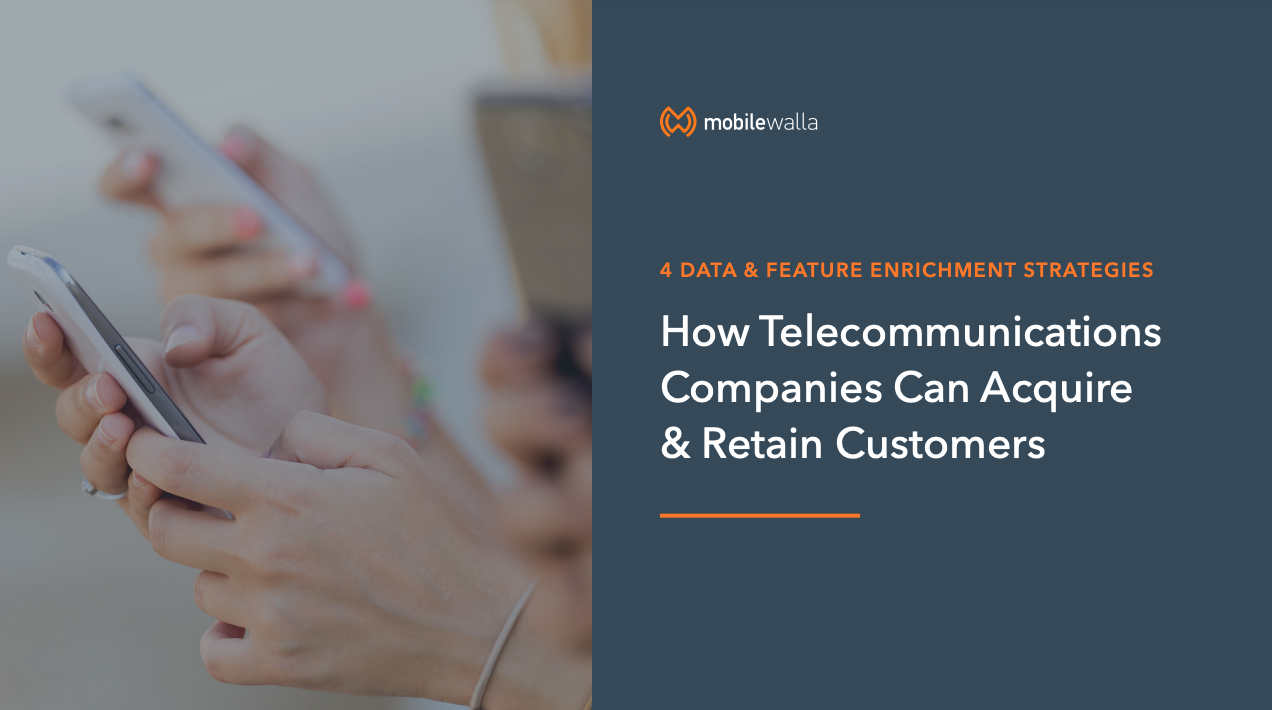 4 Data & Feature Enrichment Strategies That Help Telecommunications Companies Acquire & Retain Customers.